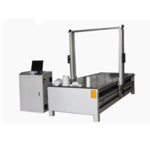 Well controlled EPS foam cutter